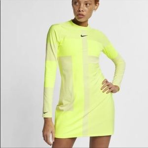 NWT Nike Tech pack bodycon Dress